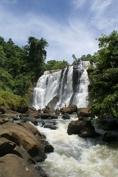 Malela Waterfall- Bandung-West Java-Java Island-Indonesia