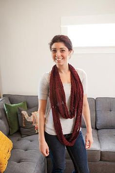 Endless Loop Scarf Pattern - Free Knitting Pattern