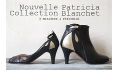 Patricia Blanchet escarpin Findouce noir
