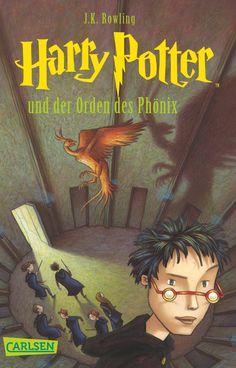Harry Potter und der Orden des Phönix (Harry Potter 5 på tysk) :)