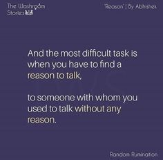 Sorry but you don't need to think this things you just have to msg nd you should. without any reason or excuse to just tell that person that you miss them. Sad Love Quotes, Amazing Quotes, Relationship Quotes, Life Quotes, Tiny Stories, Story Quotes, Teenager Quotes, Heartfelt Quotes, Reality Quotes