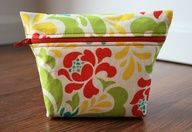 Makeup Bag Tutorial | Sew Like My Mom bag pouch