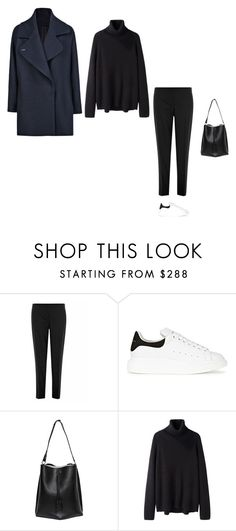 """Başlıksız #605"" by feryfery on Polyvore featuring moda, Theory, Alexander McQueen, Maison Margiela, Hope ve MANGO"