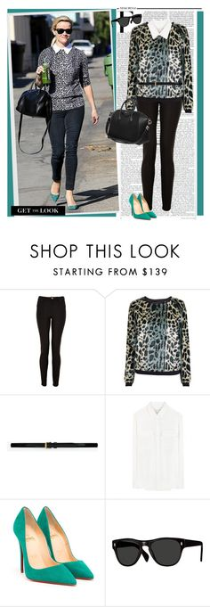 """""""Steal Her Style: Reese Witherspoon"""" by ellie366 ❤ liked on Polyvore featuring Nicki Minaj, Lanvin, Maison Scotch, Yves Saint Laurent, MICHAEL Michael Kors, Christian Louboutin, Oliver Peoples, Givenchy, GetTheLook and Stealherstyle"""