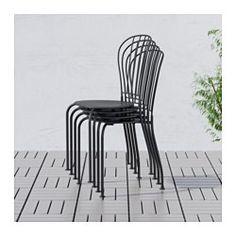 LÄCKÖ Chair, outdoor, gray - - - IKEA