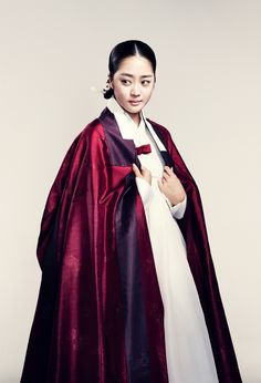 한복 Hanbok : Korean traditional clothes[dress] #장옷