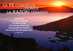 """REFLEXIONES PARA VOS: """"LA FE"""" Lea la reflexión en el blog: http://reflexionesparavos.blogspot.com/2015/05/la-fe.html?spref=tw #reflexionesparavos"""