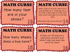 Math Curse Project by Jung Learners | Teachers Pay Teachers