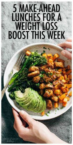5 make-ahead lunches that will help boost you weight loss. Womanista.com