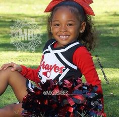 Cutest little cheerleader