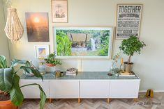 IKEA HACK! Besta tv meubel met zellige tegels ( designtegels ) en eiken pootjes ( Prettypegs ) How to uitleg in video! ©BintiHome
