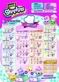 Superb Shopkins Season 6 Collectors Guide