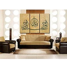 Global Artwork - Arabic Calligraphy Islamic Wll Art 3 Pie... https://www.amazon.com/dp/B00W5SOSIU/ref=cm_sw_r_pi_dp_8YYMxb3C39999