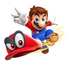 Image result for super mario odyssey Official art