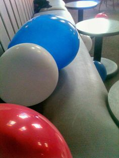 July 4th. Balloon dancing.
