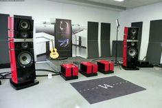 Vitus Audio electronics and Focal Utopia Grande EM speakers