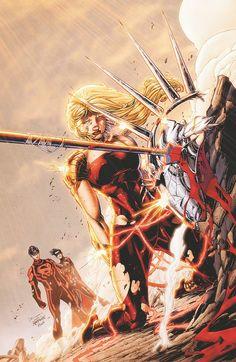 #Teen #Titans #Fan #Art. (TEEN TITANS #13) By: Brett Booth. (THE * 5 * STÅR * ÅWARD * OF: * AW YEAH, IT'S MAJOR ÅWESOMENESS!!!™)