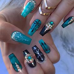 The Best Nail Art Designs – Your Beautiful Nails Fabulous Nails, Gorgeous Nails, Love Nails, Pretty Nails, Fun Nails, Glam Nails, Bling Nails, Beauty Nails, Glitter Nails