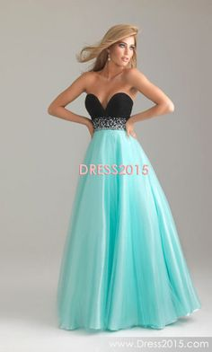 Like the colors but it's too low cut, higher neckline for a classy sweat heart and then this is my favorite Senior Prom Dresses, Wedding Dresses Uk, Beautiful Prom Dresses, Prom Dresses Blue, Dance Dresses, Pretty Dresses, Amazing Dresses, Strapless Dress Formal, Prom Dance