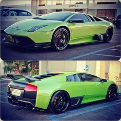 Bright Green Lamborghini Murcielago