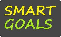 Smart Goals For students at the start of the school year