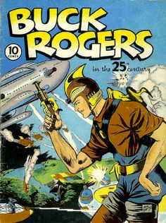 Buck Rogers in the 25th century First Issue: Eastern Color Printing (USA), 1940