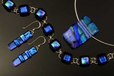 Novation Glass - Alexis St. Croix from the Vermont Hand Crafters website