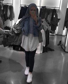 Modern Hijab Fashion, Hijab Fashion Inspiration, Arab Fashion, Islamic Fashion, Muslim Fashion, Hijab Wear, Casual Hijab Outfit, Hijab Chic, Hijab Moda