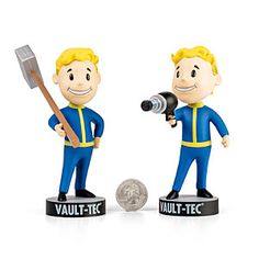 Fallout Bobbleheads from Think Geek. Fallout is one of my favorite video games of all time.