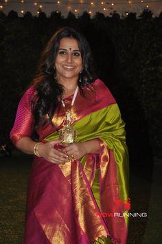 Vidya Balan Grace The Wedding Reception Of Ronnie Screwvalas Daughter