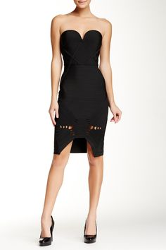 Sweetheart Hi-Lo Bodycon Dress by Wow Couture on @HauteLook