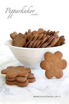 Come preparare in casa i biscotti dell'ikea pepparkakor allo zenzero ricetta swedish spicy cookies recipe