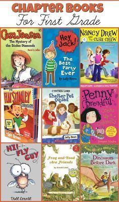 Chapter Books For First Grade - The Relaxed Homeschool