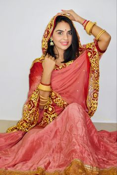 Kutch Work Designs, Ethnic Wear Designer, Photo Poses, Empire, Angel, Saree, How To Wear, Wedding, Beauty