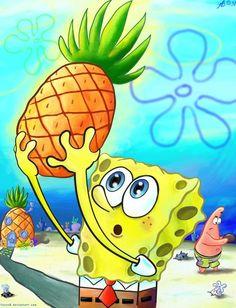 spongebob and pineapples collide.