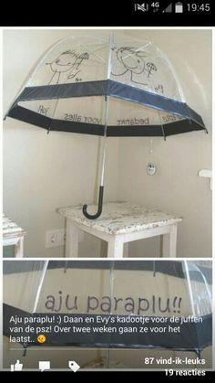 Aju paraplu. Afscheid kdv