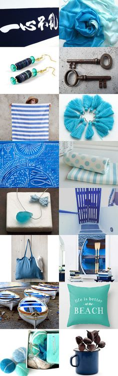 September Blues by Sun San on Etsy--Pinned+with+TreasuryPin.com Hanukkah, Life Is Good, Blues, September, San, Etsy, Home Decor, Homemade Home Decor, Life Is Beautiful