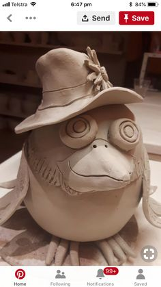 ravens from clay: 10 thousand images found in .- вороны из глины: 10 тыс изображений найдено в… ravens from clay: 10 thousand … - Pottery Animals, Ceramic Animals, Ceramic Birds, Ceramic Art, Hand Built Pottery, Slab Pottery, Ceramic Pottery, Pottery Sculpture, Sculpture Clay