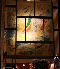 Chagall The Sources of Music Metropolitan Opera, Marc Chagall, Concert Hall, Classical Music, Opera House, Display, Photo And Video, Painting, Inspire