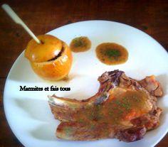 Marmite et fais tout: Côtes de Porc Braisées au Cidre avec pommes fondan...
