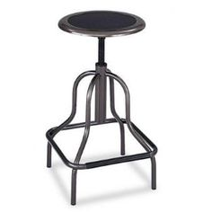 Industrial counter stools. This would be awesome in my kitchen.