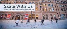 Wells Fargo WinterSkate  Grand Opening - November 24  Winter skate schedule