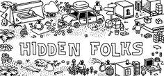 Szukaj ukrytych ludzików w ręcznie rysowanym, interaktywnym, miniaturowym świecie. Odwijaj poły namiotów, przecinaj krzaki, trzaskaj drzwiami i szturchaj krokodyle! Rooooaaaarrrr!!!!!