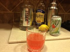 Gin Daisy - 2 ounces gin, 1 ounce lemon juice, 1 teaspoon cherry sf syrup, diet Add everything to shaker with ice except for Shake and strain into glass. Low Carb Cocktails, Dr Pepper Can, Wheat Belly, Health Diet, Mixed Drinks, Yummy Drinks, Fitness Diet, Alcoholic Drinks, Favorite Recipes