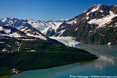 Surprise Glacier, Harriman Fjord, Prince William Sound, Alaska (by boat)