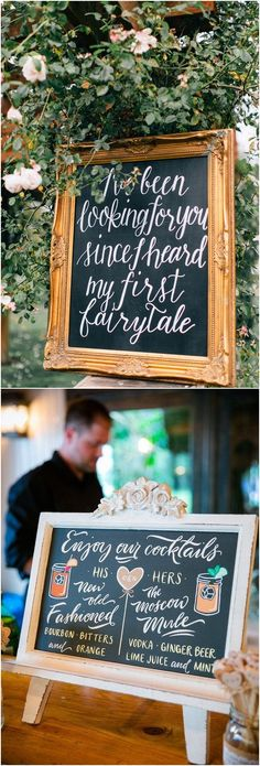 unique wedding signs #wedding #weddingideas #vintage #vintageweddings