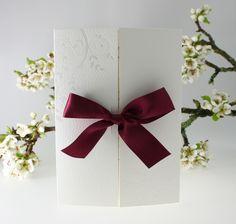 Convites casamento com fitas | Bah, Noivei!