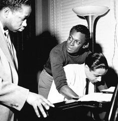 Clifford Brown, Miles Davis & Horace Silver, NYC, 1954