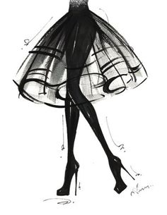 voguinitout:  fashion illustration | Tumblr on We Heart Ithttp://weheartit.com/entry/62461053/via/Elle__123