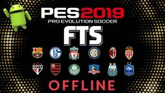FTS 19 Mod PES 2019 Offline Android Game Download Cell Phone Game, Phone Games, Xbox Games, Pro Evolution Soccer, Fifa Games, Android Mobile Games, Graphics Game, Offline Games, Uefa Champions